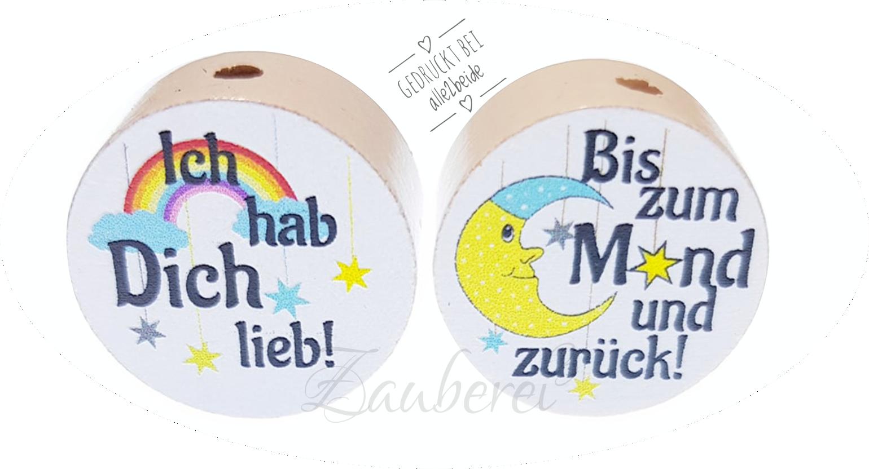 Cool Ich Liebe Dich Bis Zum Mond Galerie Von Wendescheibe Hab Lieb! (bis Und Zurück!9